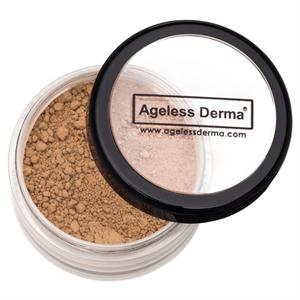 Ageless Derma Loose Mineral Foundation Warm Beige .25oz