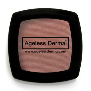 Ageless Derma Pressed Mineral Blush Mauvelous .21oz