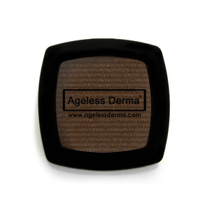Ageless Derma Pressed Mineral Eye Shadow Brown Derby .094oz