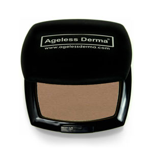 Ageless Derma Pressed Mineral Foundation Iced Coffee .46oz
