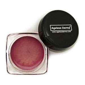Ageless Derma Satin Lip Gloss Pink Gold .17oz