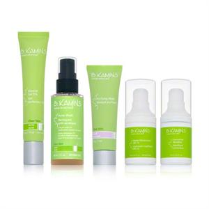 B. Kamins Clear Skin Kit for Acne Includes 5 Products