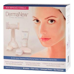 DermaNew Microdermabrasion Facial Rejuvenation System. 5 piece system.