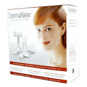 DermaNew Microdermabrasion Acne & Oily Clarifying System.