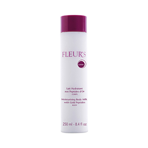 Fleur's Moisturizing Body Milk with Gold Peptides 8.4oz