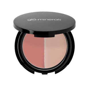 Glo Minerals Blush Duo Bare/Hibiscus 0.12 oz
