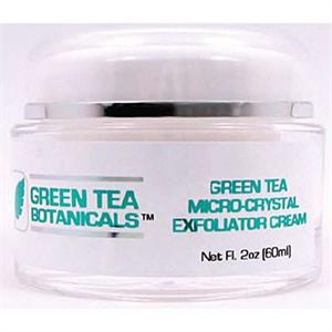 Green Tea Botanicals Micro-Crystal Exfoliator Cream 2oz