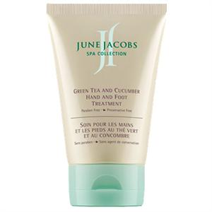 June Jacobs Green Tea  And Cucumber Hand And Foot Treatment 3.8oz