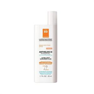La Roche Posay Anthelios 50 Mineral Tinted Ultra Light Sunscreen Fluid for Face 1.7 oz
