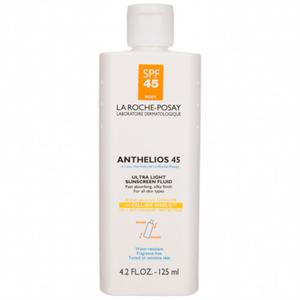 La Roche Posay Anthelios 45 Ultra Light Sunscreen Fluid for Body 4.2 oz