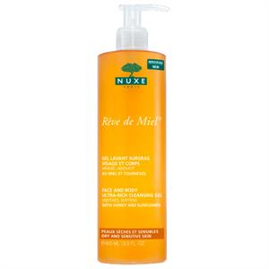 Nuxe Face & Body Ultra-Rich Cleansing Gel-Dry and Sensitive Skin