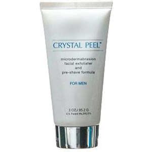 Crystal Peel Microdermabrasion and Pre-Shave