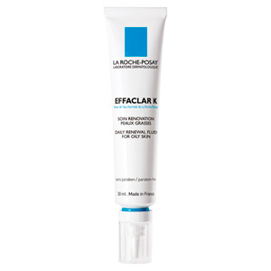 La Roche Posay Effaclar K Daily Renewal Fluid for Oily Skin 1oz