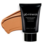 Glo Minerals Liquid Foundation Matte FinishII Beige 40g