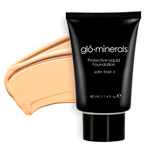 Glo Minerals Liquid Foundation Satin II Golden Fair 40g