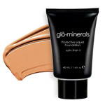 Glo Minerals Liquid Foundation Satin II Golden 40g