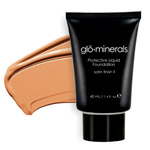 Glo Minerals Liquid Foundation Satin II Honey Light 40g