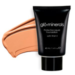 Glo Minerals Liquid Foundation Satin II Beige Light 40g