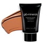 Glo Minerals Liquid Foundation Satin II Honey 40g