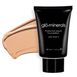 Glo Minerals Liquid Foundation Satin II Honey Fair 40g