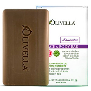 Olivella Lavander Face & Body Bar Soap 5.29oz