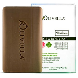 Olivella Verbena Face & Body Bar Soap 5.29oz