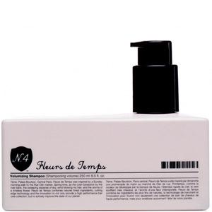Number 4 Fleurs De Temps Volumizing Shampoo 8.5oz