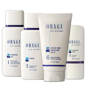 Obagi NuDerm System Contains 4 Products