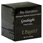 Z. Bigatti Re-Storation Goodnight Facial Cream 2oz