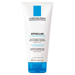 La Roche Posay Effaclar Purifying Foaming Gel for Oily Sensitive Skin 6.76oz