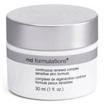 MD Formulations Continuous Renewal Complex Sensitive Skin Formula 1oz
