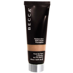 Becca Radiant Skin Satin Finish Foundation Bamboo 1.35oz