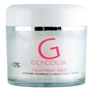 Topix Glycolix Elite Treatment Pads 10% 60 Pads