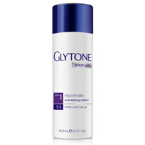 Glytone Rejuvenate Exfoliating Lotion step1 With 5.5 free acid value 2oz