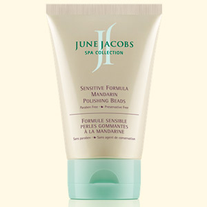 June Jacobs Sensitive Formula Mandarin Polishing Beads 3.8oz