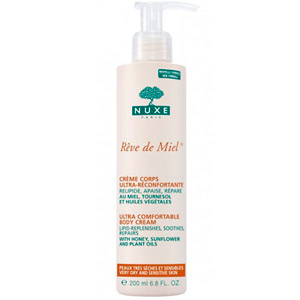 Nuxe Ultra Comfortable Body Cream-Dry And Sensitive Skin 200ML Pump