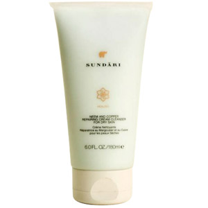 Sundari Neem and Copper Repairing Cream Cleanser for Dry Skin 6oz