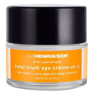 Ole Henriksen Total Truth Eye Cream Spf 15
