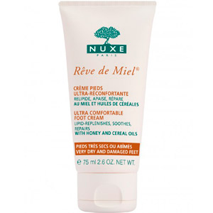 Nuxe Ultra Comfortable Foot Cream-Very Dry and Damaged Feet 75ML