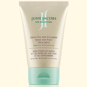 June Jacobs Green Tea  And Cucumber Hand And Foot Treatment