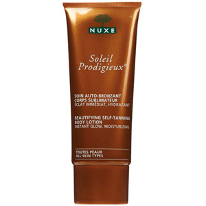 Nuxe Soleil Prodigieux Self Tanning Body Lotion 3.3oz