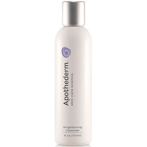Apothederm Brightening Cleanser 6oz