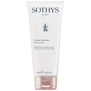Sothys Cherry Blossom & Lotus Shower Cream