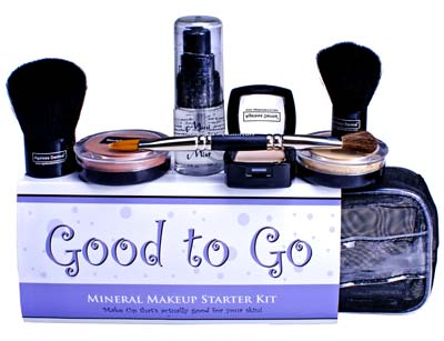 Ageless Derma Good to Go Mineral Makeup Starter Kit Fair