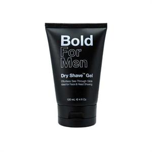 Bold For Men Dry Shave Gel 4oz