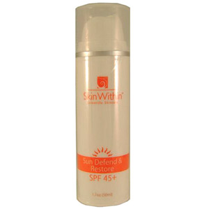 SkinWithin Sun Defend & Restore SPF 45+ 1.7oz