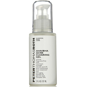 Peter Thomas Roth AHA/BHA Acne Clearing Gel 3.4oz